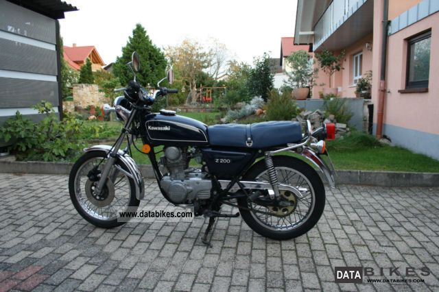 Kawasaki  Z200 1978 Vintage, Classic and Old Bikes photo