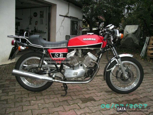 Moto Morini  350 Sport 1978 Vintage, Classic and Old Bikes photo