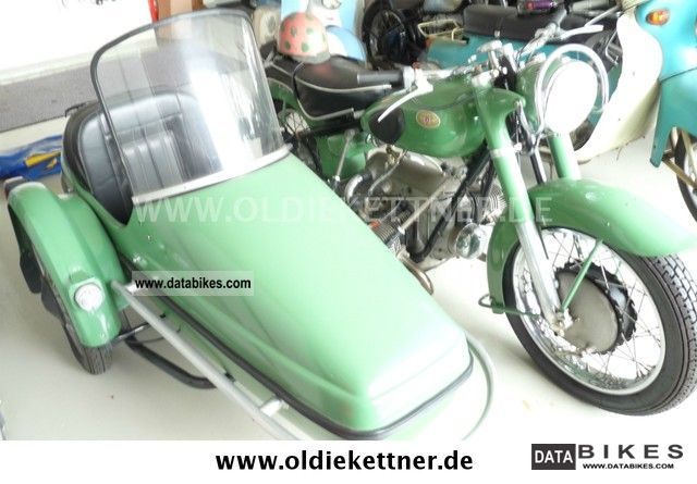 Zundapp  Zündapp KS 601 1955 Vintage, Classic and Old Bikes photo