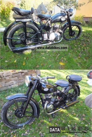 Zundapp  Zundapp 200 1950 Vintage, Classic and Old Bikes photo