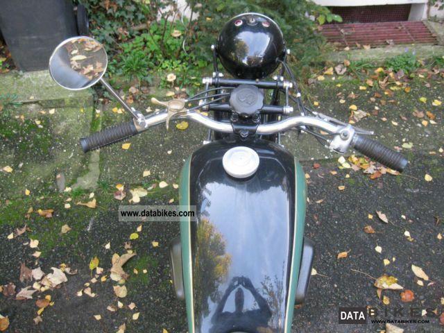 motormobilia - Sarolea Motorrad Prospekt