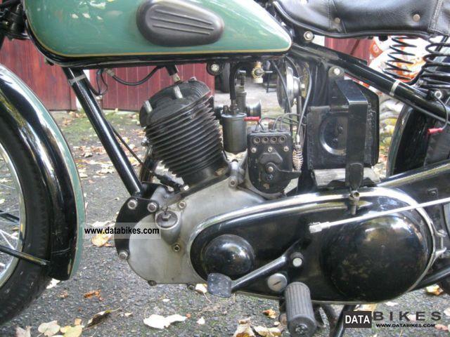 Sarolea 1938 Model S5 500cc 1 cyl ohv 3007 - Yesterdays