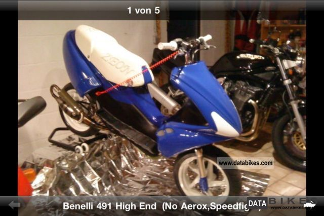 2006 Benelli  491 RR HIGH-END exhibition project \ Motorcycle Scooter photo