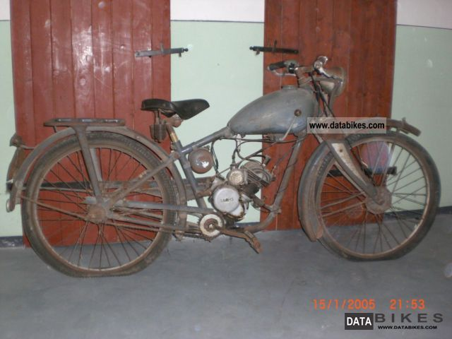 1939 Other  BOB phenomenon Motorcycle Motor-assisted Bicycle/Small Moped photo