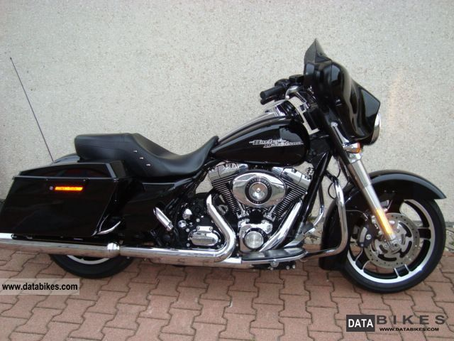 2011 Harley Davidson Street Glide Classic 2011 Vivid Black