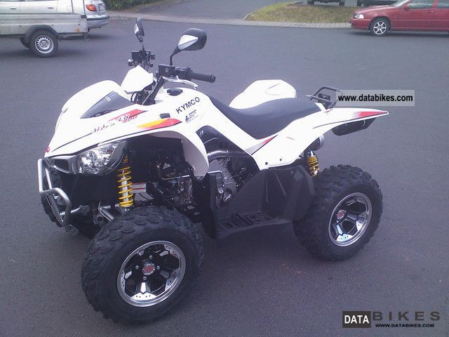 2012 Kymco  Maxxer 450 LoF approval Motorcycle Quad photo