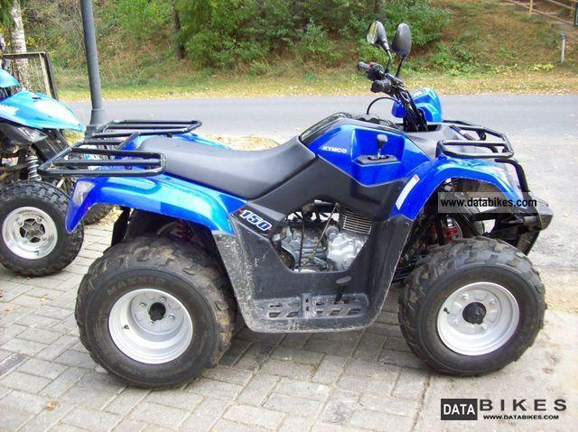 2012 Kymco  MXU 150 Motorcycle Quad photo
