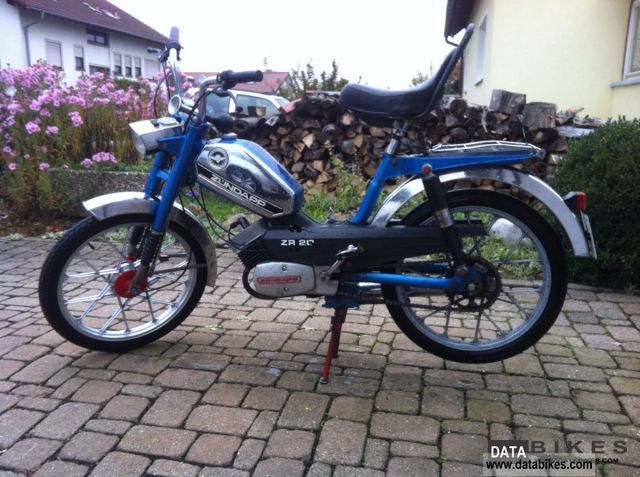1979 Zundapp  Zündapp ZR20 Motorcycle Motor-assisted Bicycle/Small Moped photo