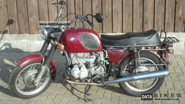 BMW  R 75/5 1974 Vintage, Classic and Old Bikes photo