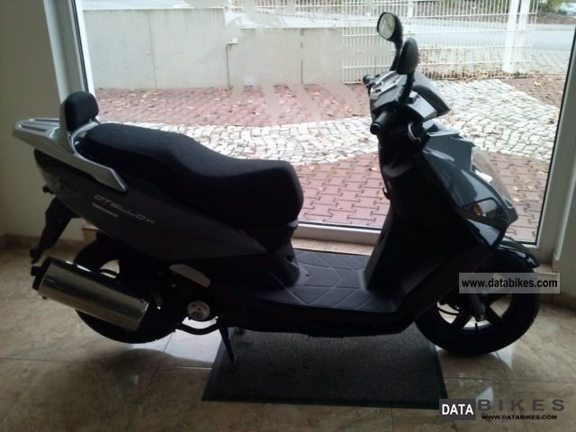 Daelim  Otello F1 gray brand new car without a license 2012 Scooter photo