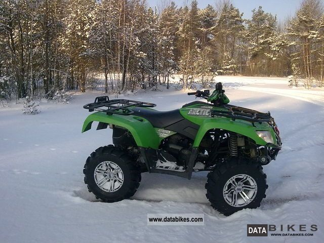 2005 Arctic Cat  Arctic Cat 650V2 Motorcycle Quad photo
