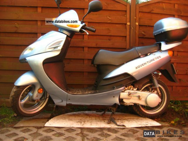 2007 Italjet  Johnway adventure 125 Motorcycle Scooter photo