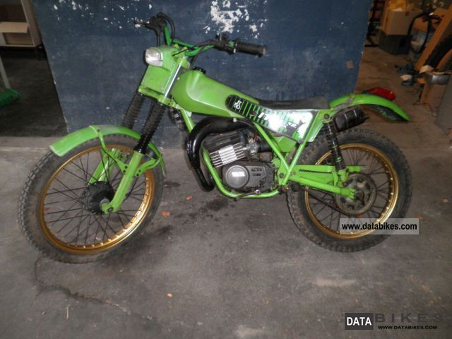 1980 Italjet  jt 50 trial ASPES malaguti gasgas fantic Motorcycle Motor-assisted Bicycle/Small Moped photo