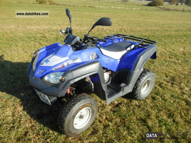 2009 Adly  Canyon 280 Motorcycle Quad photo