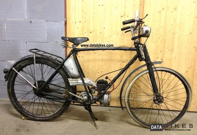 Puch  Styriette 60 1939 Vintage, Classic and Old Bikes photo