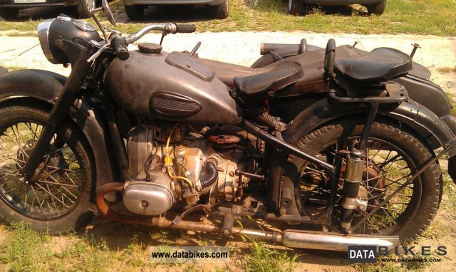 Ural  M-61 1968 Vintage, Classic and Old Bikes photo