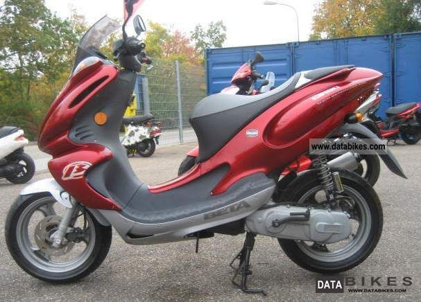 2001 Beta  Eikon 50 LC Real 50s with Nitro / Aerox Engine Motorcycle Scooter photo