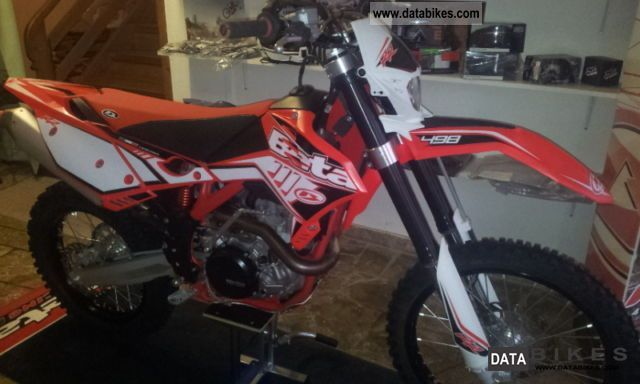 2012 Beta  RR 498 Motorcycle Enduro/Touring Enduro photo