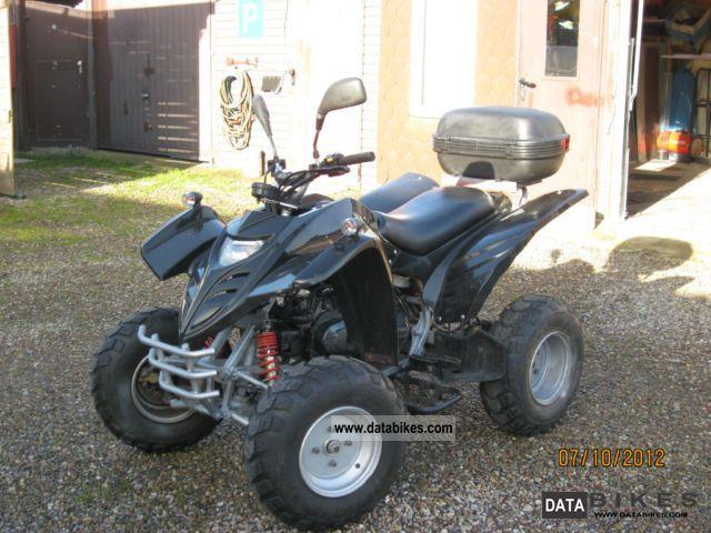 2007 Adly  Moto Motorcycle Quad photo