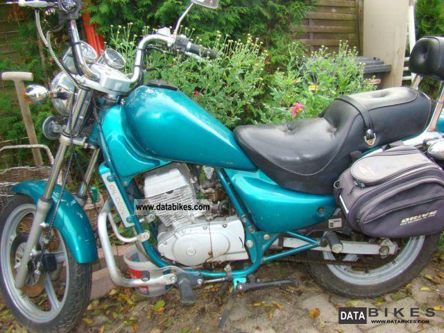 1998 Hyosung  Cruse 1.2 Motorcycle Chopper/Cruiser photo