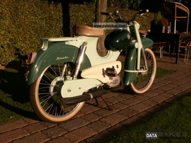 Sachs  Rabeneick Binetta III 1958 in excellent condition 1958 Vintage, Classic and Old Bikes photo