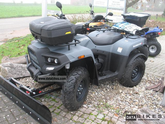 2012 Cectek  Gladiator T5, snow plow \ Motorcycle Quad photo