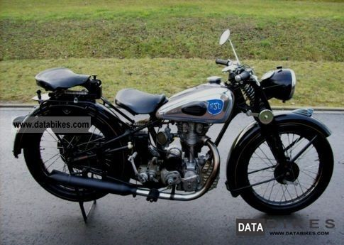 NSU  with history 251OSL Oldtimer 1951 Vintage, Classic and Old Bikes photo