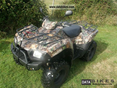 2010 Kawasaki  Brute Force 650 4 x 4 Motorcycle Quad photo