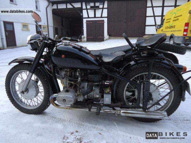 Ural  m16 1960 Vintage, Classic and Old Bikes photo
