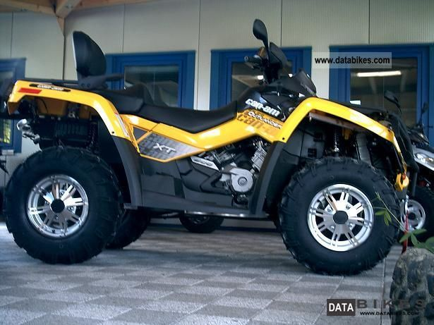 Can Am Outlander 500 Xt Pics 2011 Can Am Outlander 500 Xt Pics | Apps ...