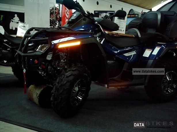 2012 Can Am  Outlander Max 800R EFI LTD Motorcycle Quad photo