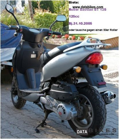 1995 Baotian  125 Motorcycle Scooter photo