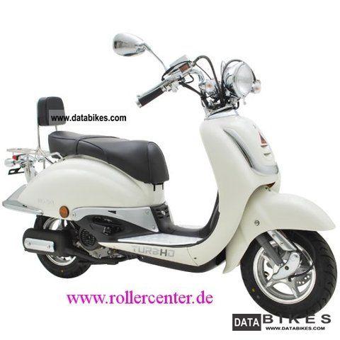 2012 TGB TURBHO RG 50 Retro Scooter