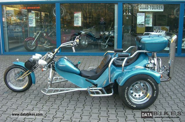 2000 Rewaco  HS 4 Chopper Motorcycle Trike photo
