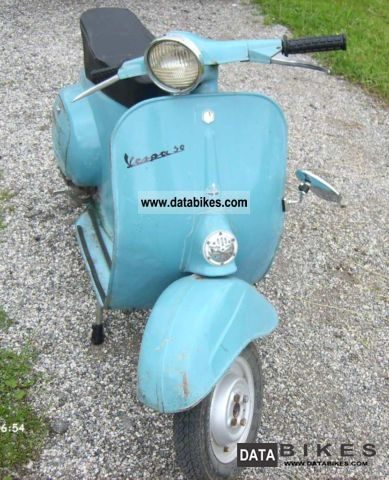 Vespa  50 1972 Vintage, Classic and Old Bikes photo