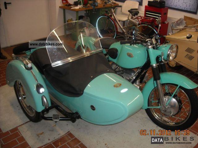 1952 Zundapp  Zündapp KS 601 Motorcycle Combination/Sidecar photo