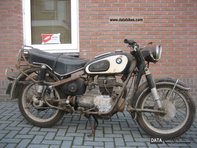 BMW  R 26 SCHEUNENFU ND 1960 Vintage, Classic and Old Bikes photo