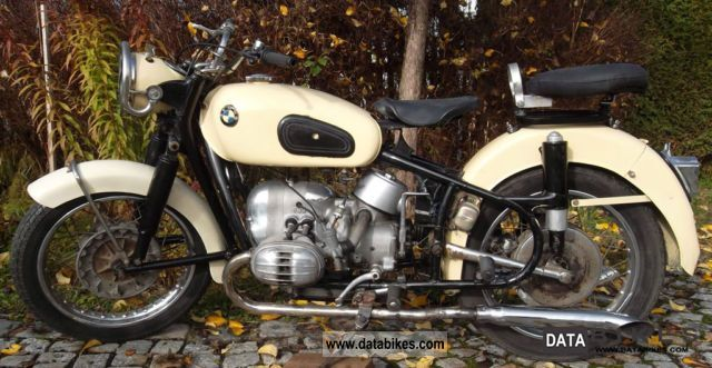 BMW  R50 1960 Vintage, Classic and Old Bikes photo