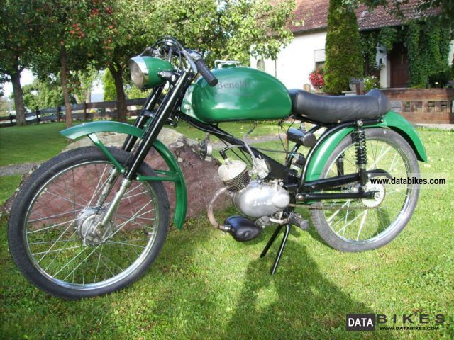 Benelli  50 Sports 1959 Vintage, Classic and Old Bikes photo