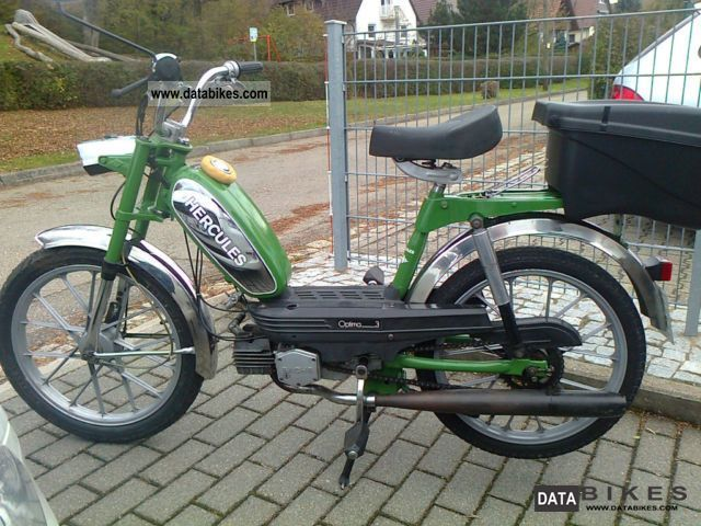 1982 Hercules  Optima 3 Motorcycle Motor-assisted Bicycle/Small Moped photo