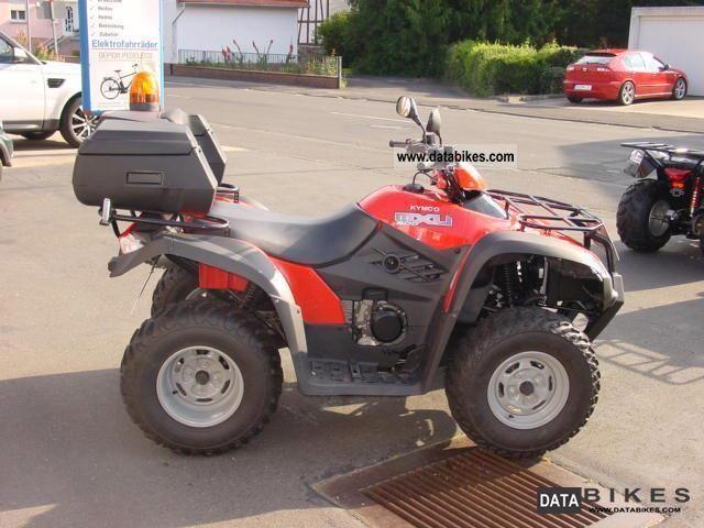 2009 Kymco  MX500 2x4 Motorcycle Quad photo