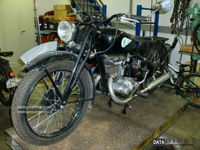DKW  KS 200 1937 Vintage, Classic and Old Bikes photo