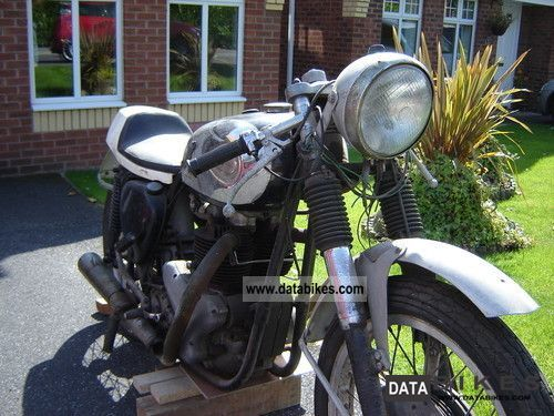 1961 BSA  A10 Golden Flash 650cc race bike Motorcycle Motorcycle photo