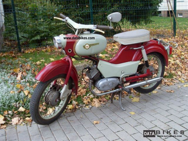 1968 Simson  Sparrow Motorcycle Motor-assisted Bicycle/Small Moped photo