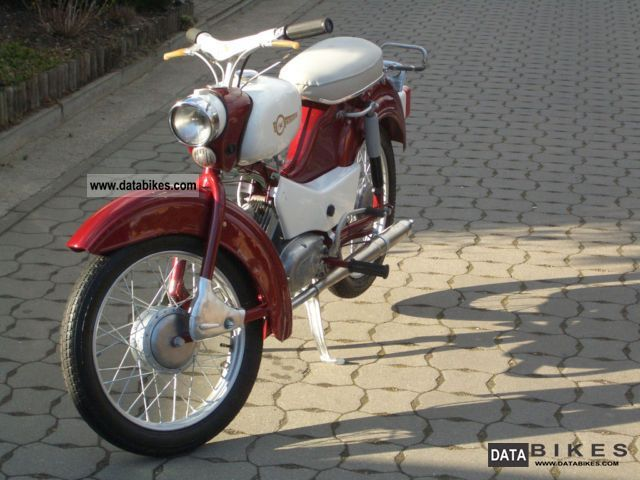 Simson  SR 4-1 Spatz 1966 Vintage, Classic and Old Bikes photo