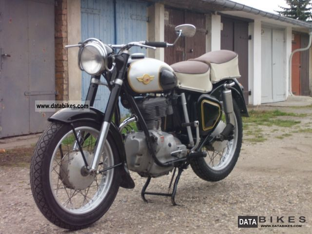 Simson  awo, Awo 425, 425S 1959 Vintage, Classic and Old Bikes photo