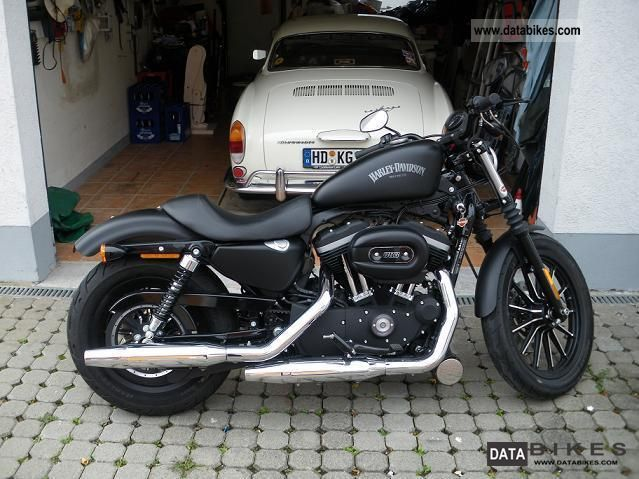 2012 Harley Davidson  Sportster Iron 883 Motorcycle Chopper/Cruiser photo