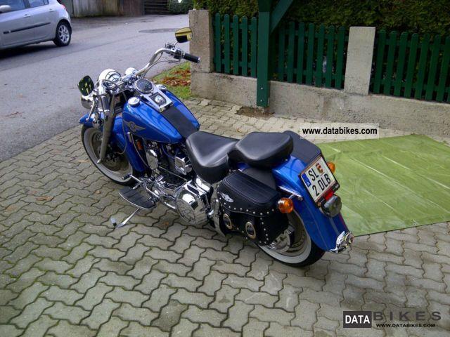 1996 Harley Davidson  Fat Boy Motorcycle Chopper/Cruiser photo