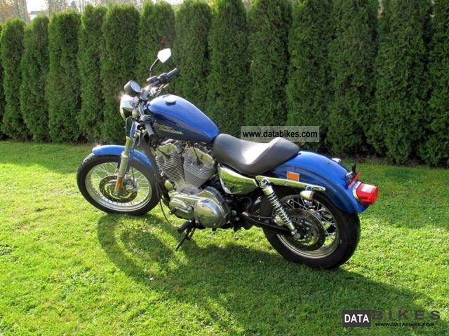 2009 Harley Davidson  Sportster 883 XL2 Motorcycle Chopper/Cruiser photo