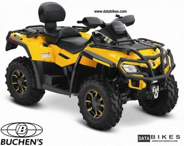 2012 Can Am  Outlander 800 MAX XT Motorcycle Quad photo